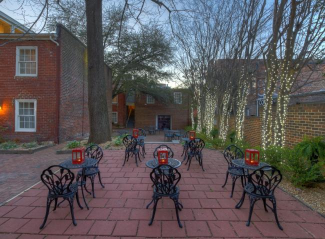 Courtyard with Chairs